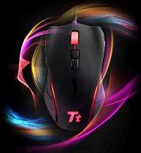 Компания Tt eSports представила мышь Black Element для любителей