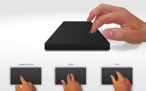 LaCie – концепт жесткого диска с сенсорной панелью