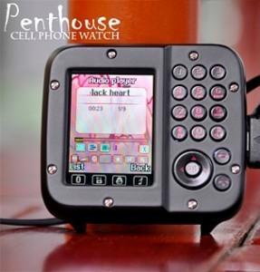 Часы – телефон Penthouse