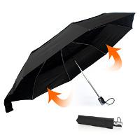 Зонт-автомат, защищающий от ветра