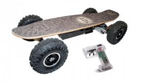 Fiik – моторизированный скейтборд
