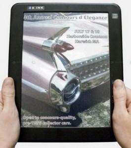 Цветные дисплеи для электронных книг
