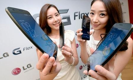 LG выпускает изогнутый смартфон G Flex