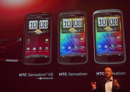 Старт продаж смартфона  HTC Sensation XL: первые впечатления