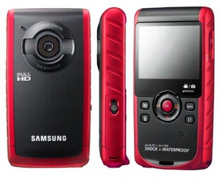 Защищенный камкордер W200 от Samsung сохранит память о ярких моментах