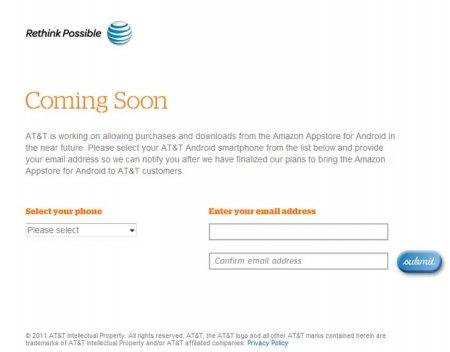 AT&T откроет доступ к Amazon Appstore