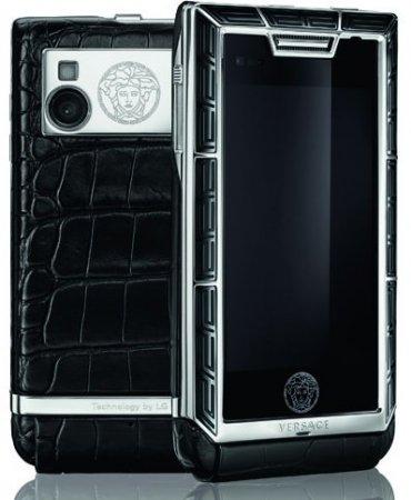 Versace представила коллекцию телефонов Unique Exotic Skin Collection