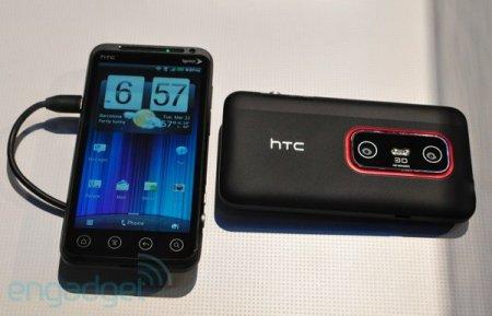 Анонс планшета HTC EVO View 4G и смартфона HTC EVO 3D