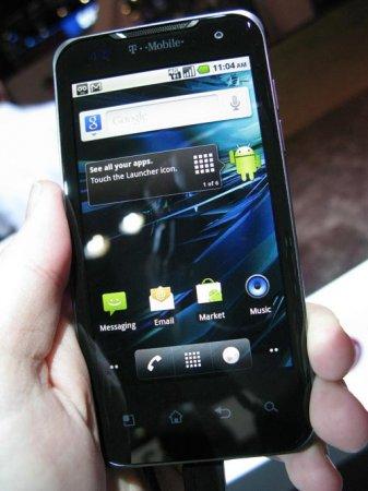CTIA 2011: официально анонсирован смартфон T-Mobile G2X