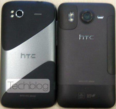 Фотографии HTC Pyramid спереди и сзади