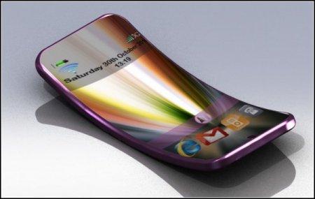 Flexiphone - гибкий телефон со сверхбыстрой батареей