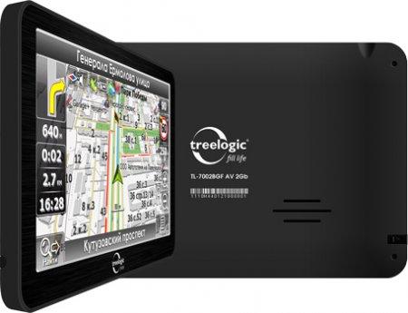 Компания Treelogic представила новый GPS навигатор Treelogic TL-700
