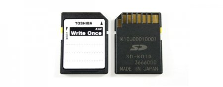 Одноразовые карты памяти от Toshiba