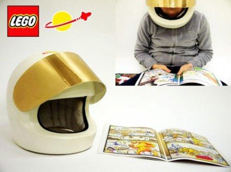 Шлем для чтения комиксов в стиле Lego