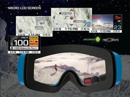 Новые GPS-очки от Recon