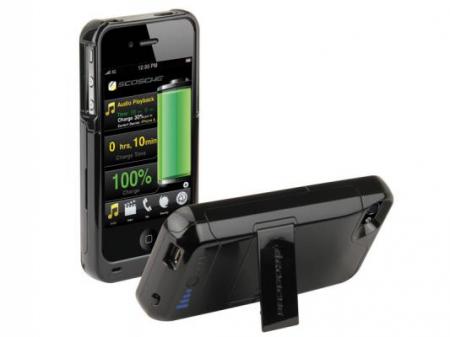 Scosche switchBACK surge g4 – корпус-батарея для iPhone 4