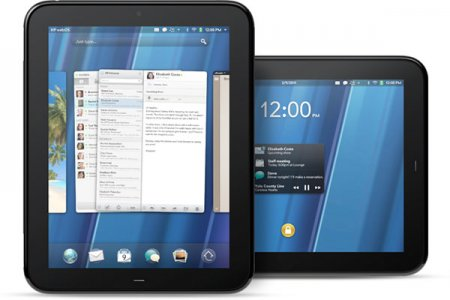 HP TouchPad представлен официально