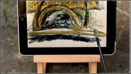 Nomad Brush: электронная кисточка для рисования на iPad