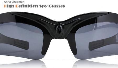 Шпионские очки от Анны Чапман