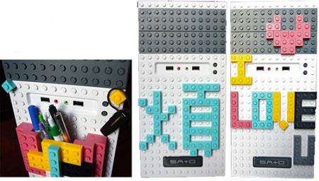 Компьютерный корпус в стиле Lego