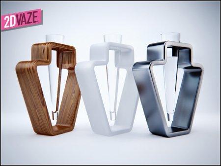 2d Vase - старая форма по-новому!