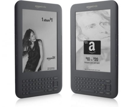 Amazon Kindle с рекламой за $114