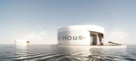 ReVolt House: уникальный проект плавучего дома