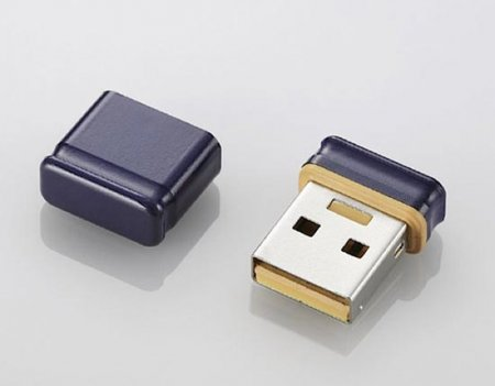 MF-SU2 USB Thumb Key - самая маленькая флешка
