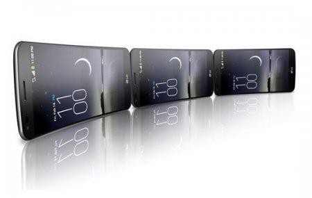 Пузырящийся дисплей гибкого смартфона LG G Flex