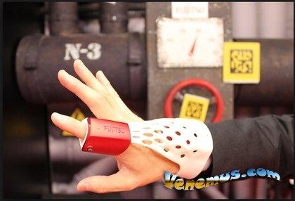 Умная электронная перчатка Fujitsu