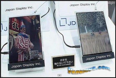 Japan Display выпустила LPTS-панели для планшетов