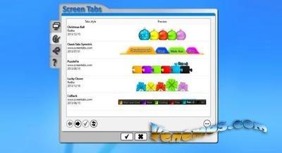 ScreenTabs – создание виртуальных десктопов
