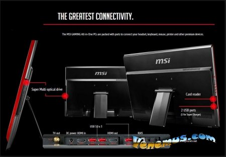 Обзор игрового моноблока MSI AG270 2QE