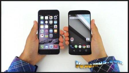 Сравнительная характеристики iPhone 6 Plus и Nexus 6