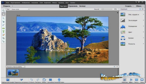 Adobe Photoshop Elements (v.18.0/RUS) 2020