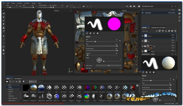 Allegorithmic Substance Painter 2020 (v.6.1.1/x64 bit)