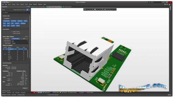 Altium Designer v.20 (русская версия) x64 bit