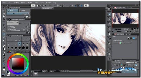 Clip Studio Paint 1.10.6 PRO (RUS) 2020