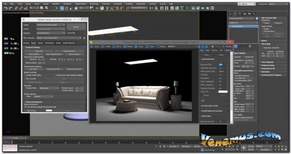 Corona Renderer 6 для Cinema 4D и 3DS Max 2013-2021