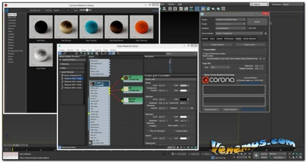 Corona Renderer 5 для Cinema 4D и 3DS Max 2013-2021