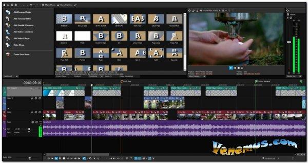 MAGIX VEGAS Movie Studio v16 Platinum (RUS)