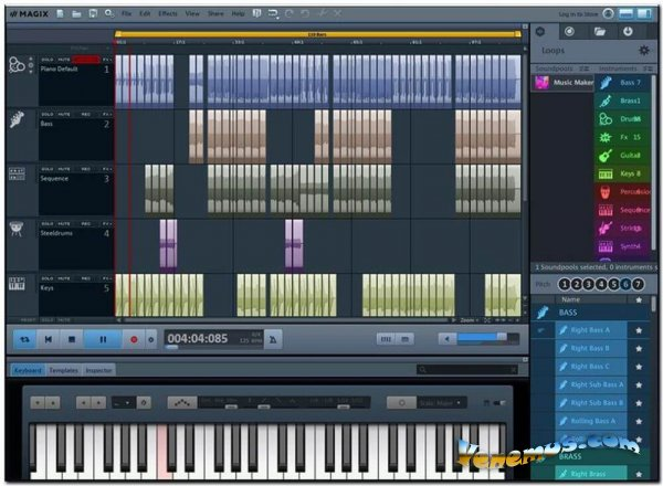 MAGIX Music Maker 2020 Premium Edition (RUS)