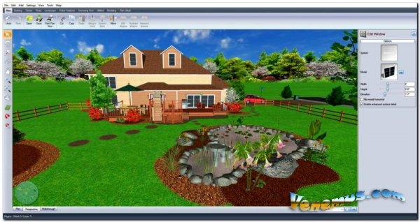 Realtime Landscaping Architect 2019 (RUS) +Crack