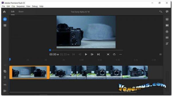 Adobe Premiere Rush 2020 (для Windows)