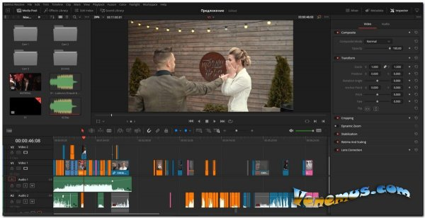 Blackmagic Design DaVinci Resolve Studio v.16 (+ Bonuspack) 2020
