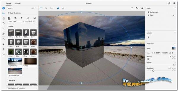 Adobe Dimension CC 2020 (Multi/RUS) v.3.3