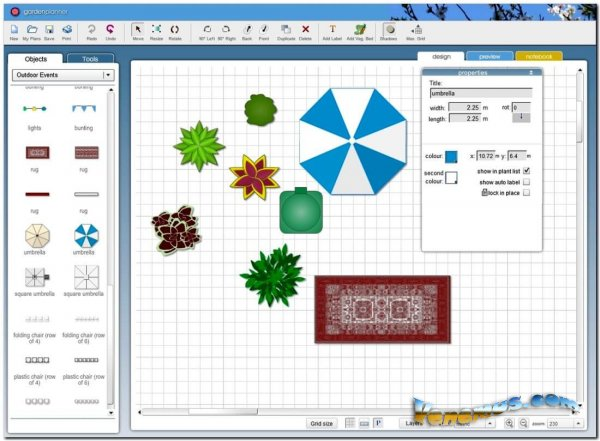 Garden Planner v.3.7.34 (2020) RePack & Portable
